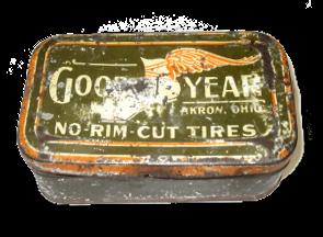 Good Year tin box