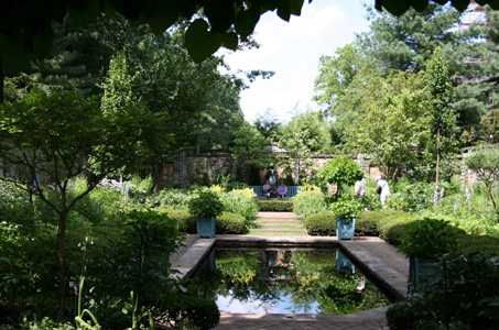 English Garden—Stan Hywet, 2006