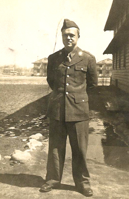 Frank Seiberling Jr. in uniform