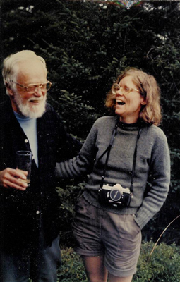 Frank A. Seiberling Jr. with daughter, Grace