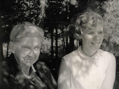 Grace Chase and Grace Seiberling—1951
