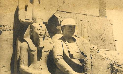 Granny Sei with Pharaoh