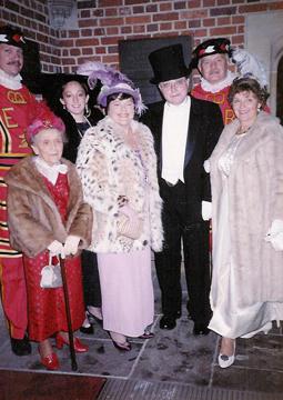 Irene with Carla, Trudy, Bob, and Sally