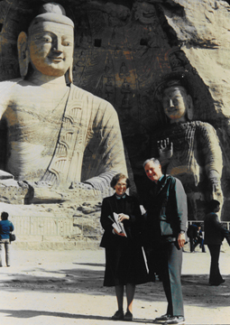 Judy and John Shaw in China—1988