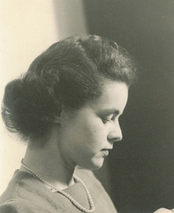 Portrait of Nancy, wife of Frank Seiberling Jr.