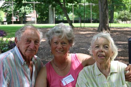 Sidney Stiber, Angela Skene, Dotty Seiberling—2006